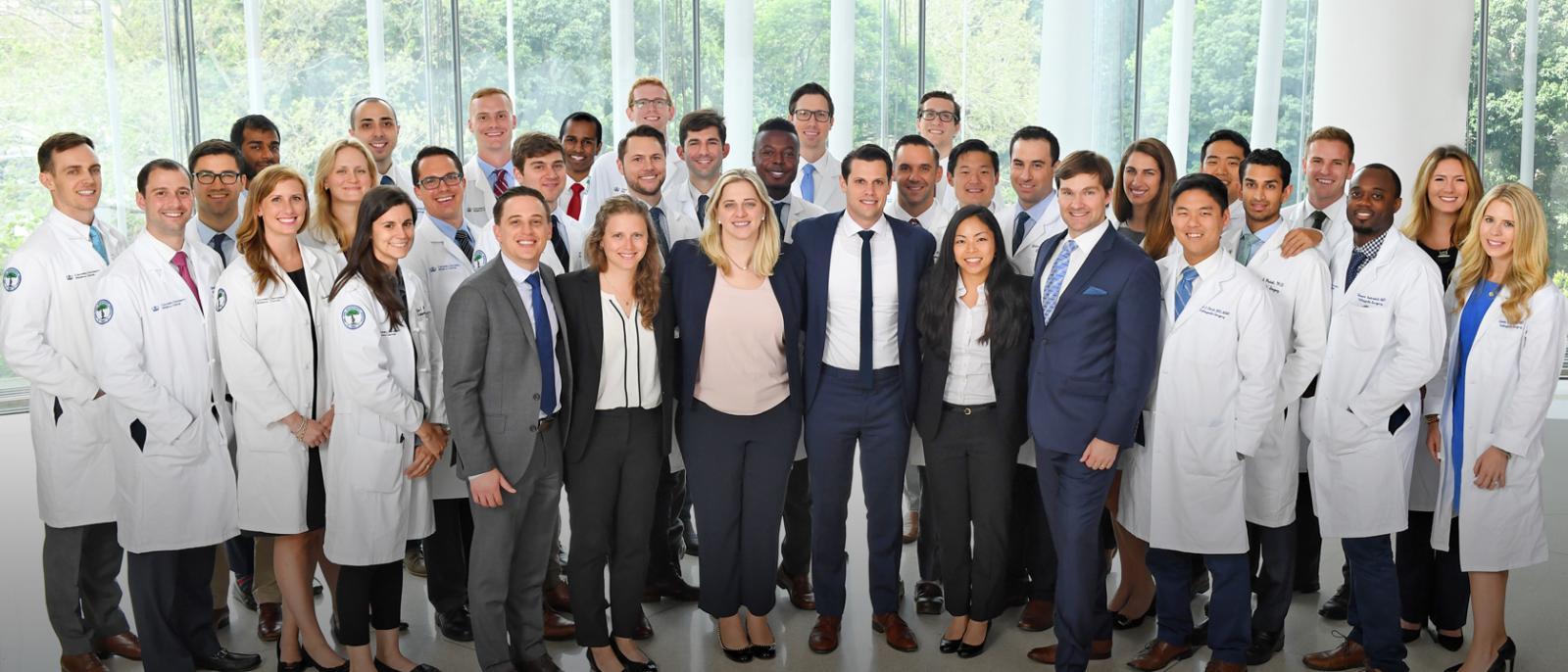Group photo of Columbia Orthopedics residents